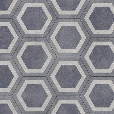 Giles-Carpets-Auckland-Robert_Malcolm-Vinyl-Status-Honeycomb-Tile-Blue