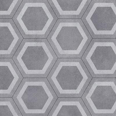 Giles-Carpets-Auckland-Robert_Malcolm-Vinyl-Status-Honeycomb-Tile-Grey
