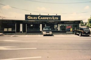 1980s - Giles Carpets, White Swan Road