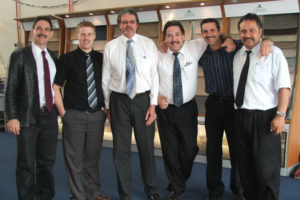 2004 - Giles Carpets Team Movember